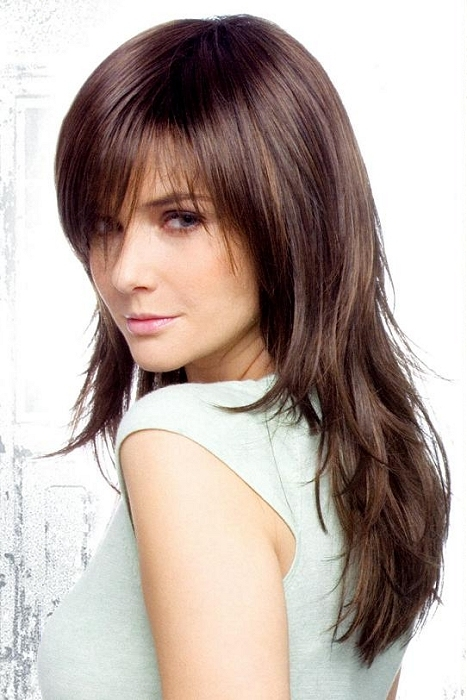 Long Hair Layered Haircuts With Bangs