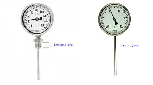 Temperature-Gauge-Threaded-Stem-Plain-Stem