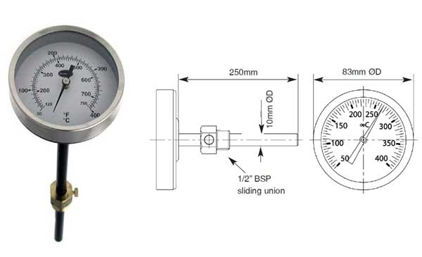 Temperature-Gauge-Union-Stem